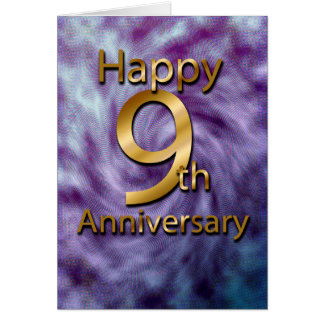 happy 9th anniversary gifts on zazzle