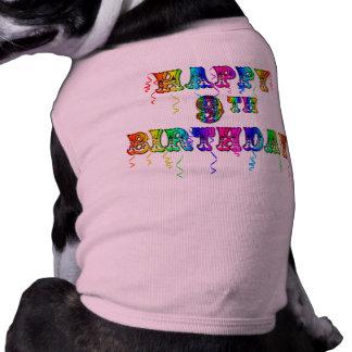 Happy 9th Birthday Shirts, Birthday Mugs and more T-Shirt