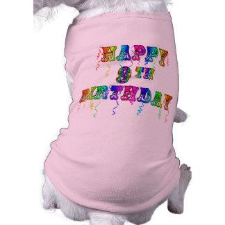 Happy 9th Birthday Shirts, Birthday Mugs and more Tee