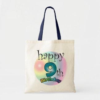 Happy 9th Birthday Tote Bag