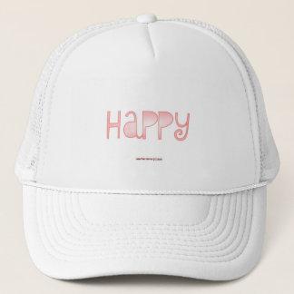 Happy - A Positive Word Trucker Hat