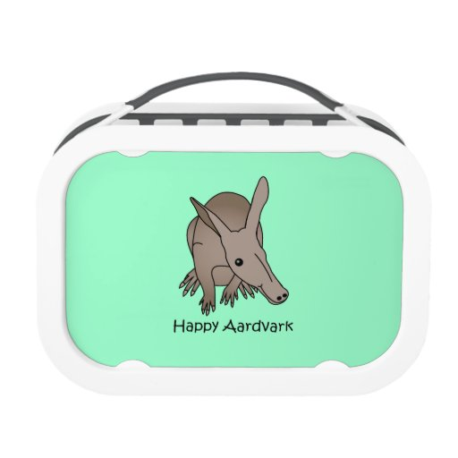 Happy Aardvark lunch box