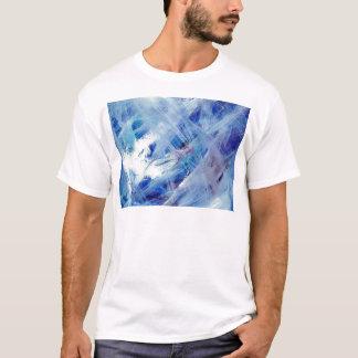 Happy abstract acrylic art painting T-Shirt