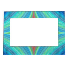 Happy abyss magnetic picture frame