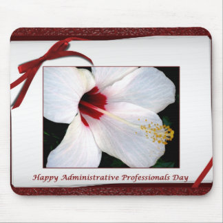 Happy Administrative Professionals Day Floral Mousepads