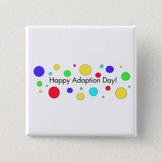 Happy Adoption Day! Button