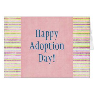 Happy Adoption Day! Card