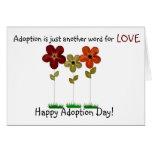 happy adoption day greeting card