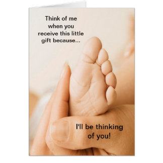 Happy Adoption Day I'll be thinking of you Card