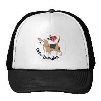 Happy Adorable Funny & Cute Beagle Dog Trucker Hat
