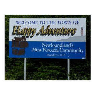 Happy Adventure, Newfoundland Postcard