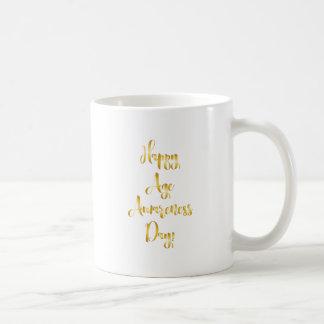 Happy age awareness day birthday supplies coffee mug