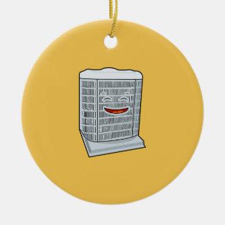 Happy Air Conditioner AC unit smiling Ceramic Ornament