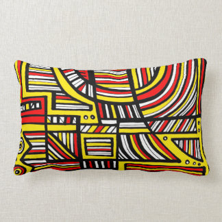 Happy Amazing Modern Delightful Lumbar Pillow