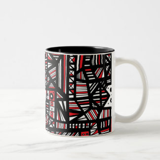 Happy Amazing Modern Delightful Two-Tone Coffee Mug