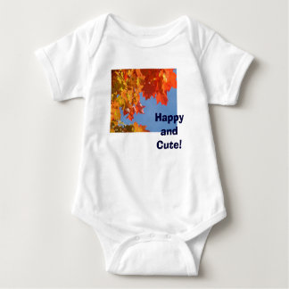 Happy and Cute! Baby Infant Creeper Autumn