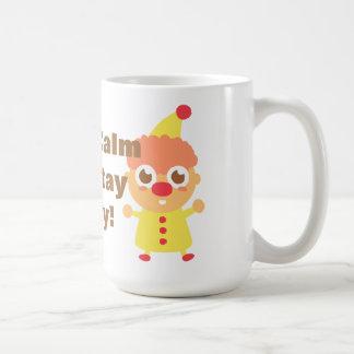 Happy and Cute Circus Clown Mugs