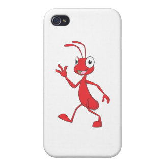 Happy and Friendly Ant Walking Covers For iPhone 4