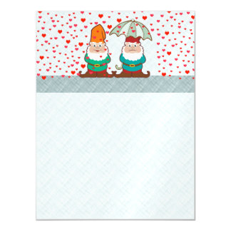 Happy and Grumpy Gnomes Magnetic Card
