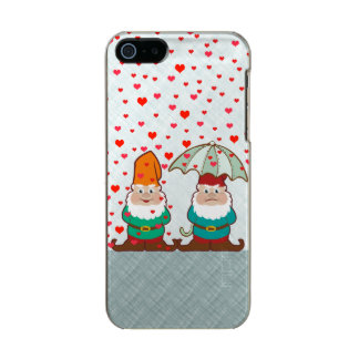 Happy and Grumpy Gnomes Metallic Phone Case For iPhone SE/5/5s