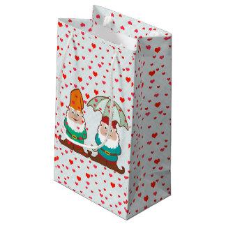 Happy and Grumpy Gnomes Small Gift Bag
