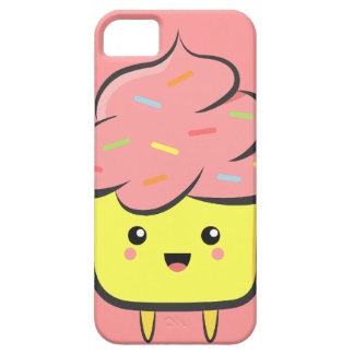 Happy and Kawaii cupcake with colorful sprinkles iPhone SE/5/5s Case