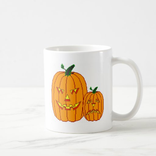 Happy and Sad Jack=O=Lantern Mug