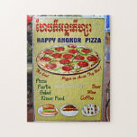 Happy Angkor Pizza Sign Puzzles