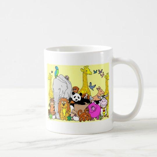 Happy Animals Coffee Mug