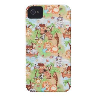 Happy Animals family Case-Mate iPhone 4 Case