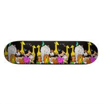 Happy Animals Skateboard Deck