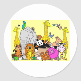 Happy Animals Sticker