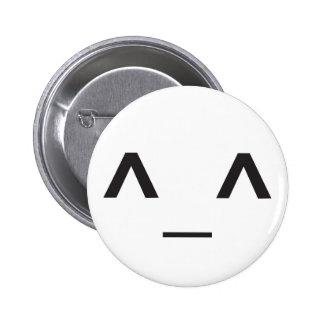 Happy Anime Face Button