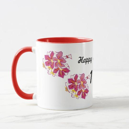 Happy Anniversary 13th Mug