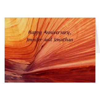 Happy Anniversary, Apache Wedding Blessing Card