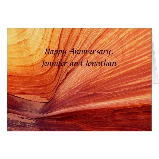 Happy Anniversary, Apache Wedding Blessing Card