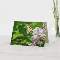 Happy Anniversary Butterfly Card by Janz
