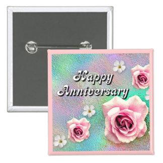 Happy Anniversary Pin
