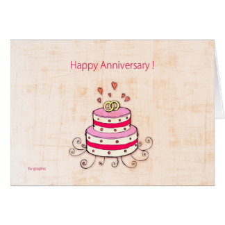 Happy Anniversary ! Greeting Card