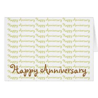 Happy Anniversary Card at Zazzle