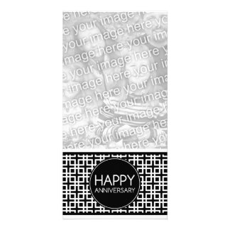 Happy Anniversary (cinderStripe) Card