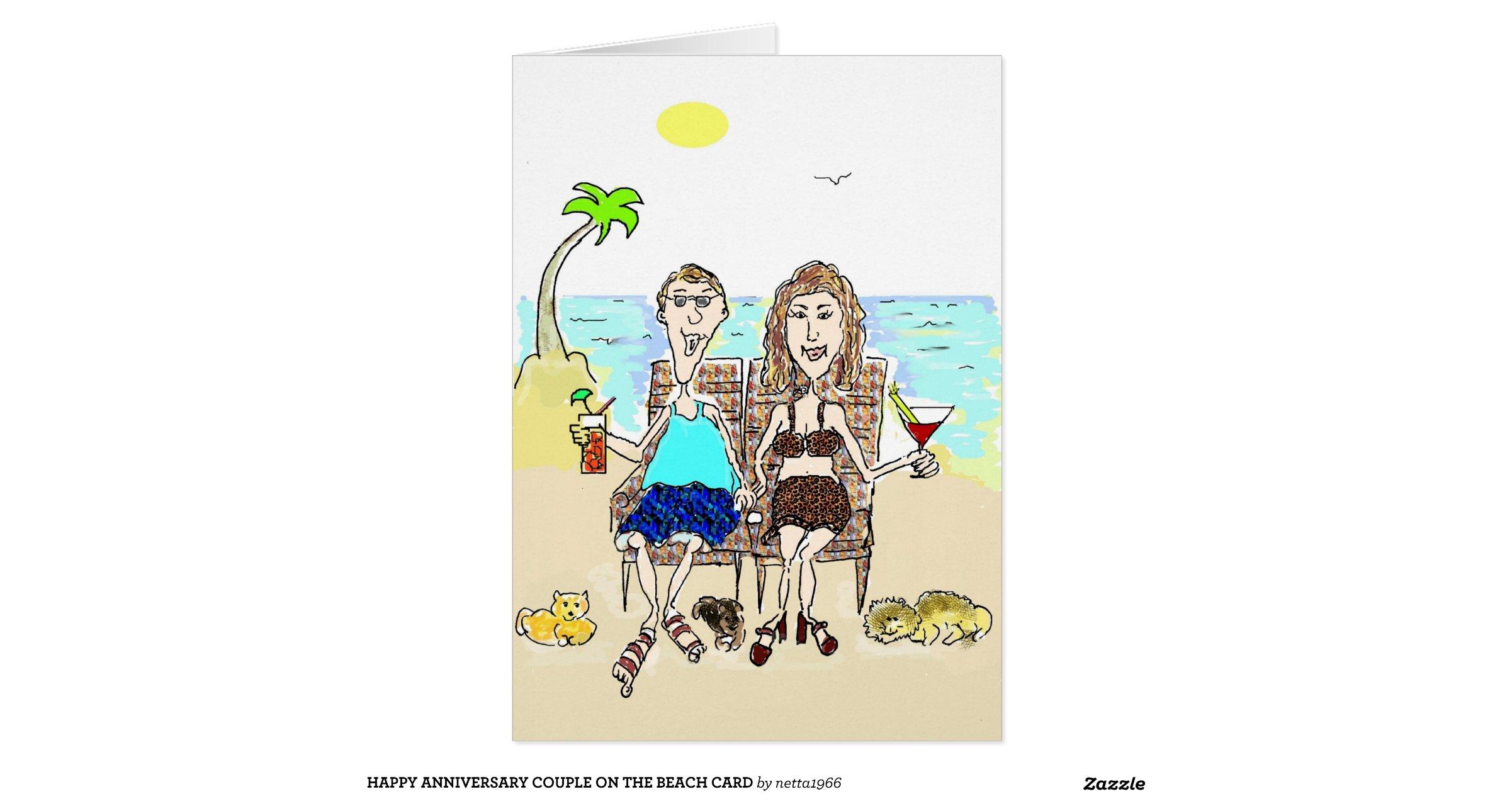 Happy Anniversary Couple on