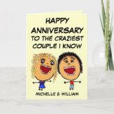 Ball n/' Chain Anniversary Card