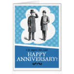 Happy Anniversary Dads Greeting Card