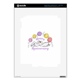 Happy Anniversary Decals For iPad 3