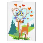 Happy Anniversary Deer Card