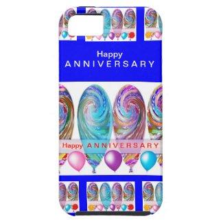 Happy ANNIVERSARY :Editable text Let CHANGE iPhone 5 Cases