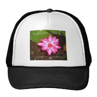 HAPPY ANNIVERSARY/FLOWER CHILD TRUCKER HAT