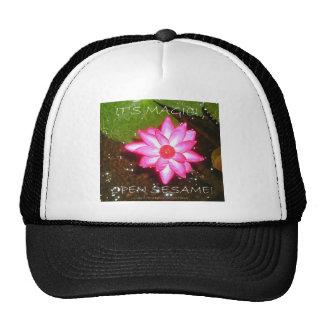 HAPPY ANNIVERSARY/FLOWER CHILD MESH HATS