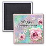 Happy Anniversary Fridge Magnet